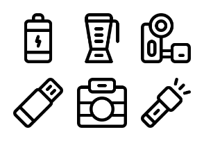 Electronic device set (Outline)