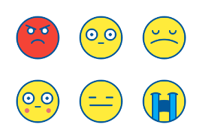 Emoji Filled Outline 64
