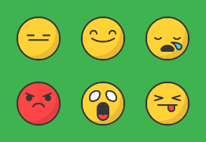 Emojis - Colored, Outlined, Pixel Perfect