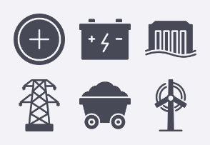 Energy and Industry Glyph