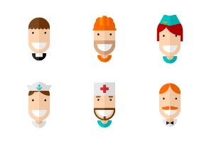 Faces Professions