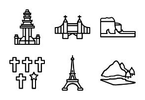 Famous Landmarks of world