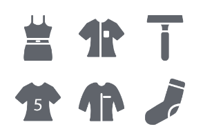 Fashion and Clothes Glyphs vol 2