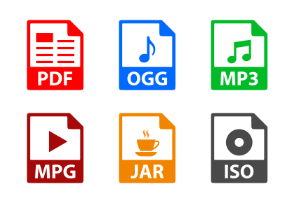 File formats 5