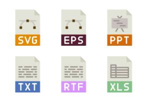 File Types - Flat