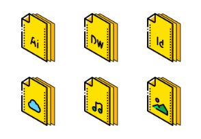 Files And Folders ISO - Yellow 2