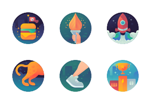Fitness Achievement Badges