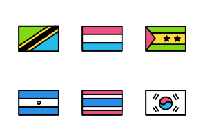 Flags icons - Iconfinder com