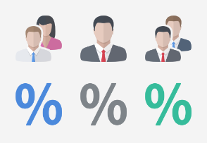 Flat Design - Business set 4