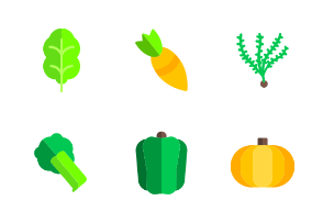 Flat vegetables