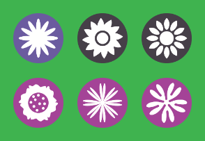 Flower - Abstract Floral Decorative Shape Vol 3