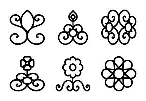 Flowers and Floral Line 3