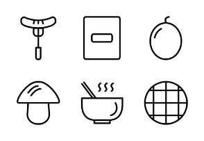 Food and Drinks Outline