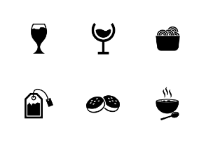 Food Solid Icons Volume 3