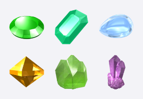Free Crystal Icons