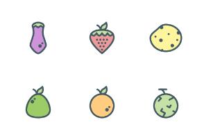 Fruit and Vegetables (filled)