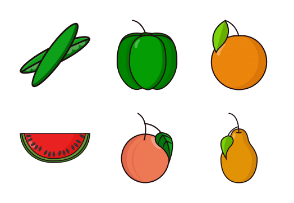 Fruits & Vegetables Vol 1