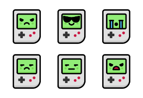 Gameboy Emoticons