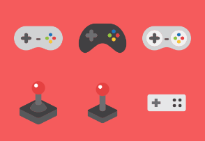 Gamers World - Collection of Gamepads