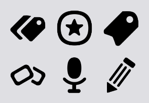 Gentle Edges Icon Set