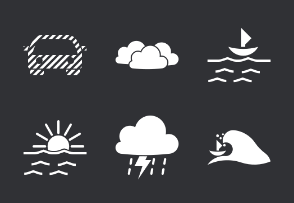 Glyph weather