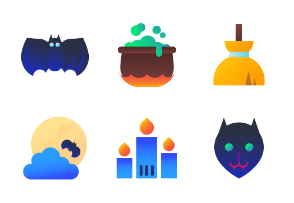 Halloween - Bright Flat Design