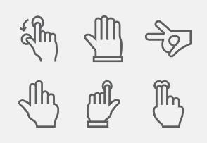 Hand Gesture Line vol 1