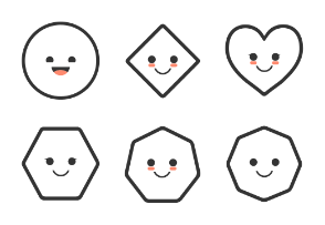 Shapes have feelings too