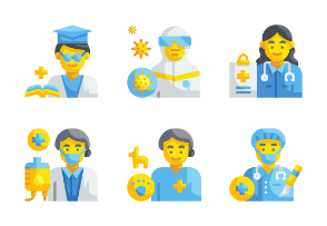 Health Professionals Avatars