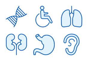 Healthcare - Monochrome Icons