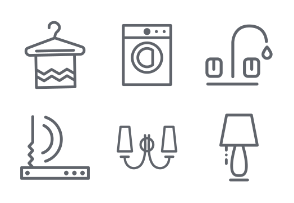 Home icon set, IInd part