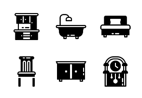 Household & Furniture (Glyph)