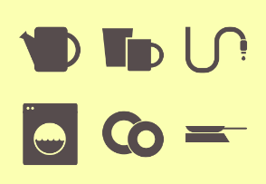 Household Tasks - Glyph