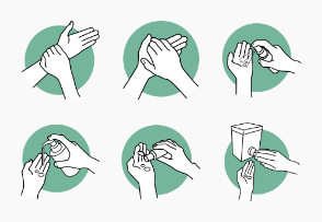 How to Sanitize Your Hands with Hand Sanitizer