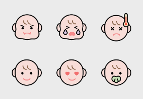 Human face collection (emoji)