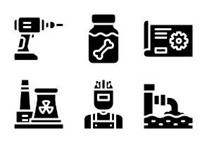 Industry Glyph