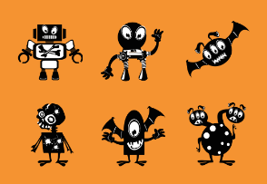 Ink Monster Cartoons