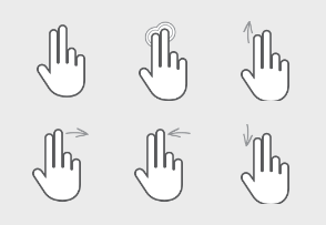 Interactive Gesture Pack