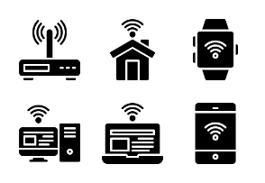 Internet Of Things - Glyph
