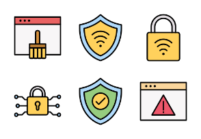 Fillicons: Internet Security