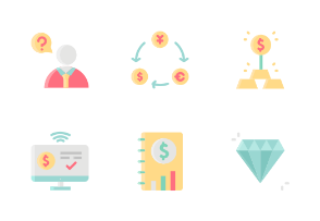 Investing Without Outline Iconset