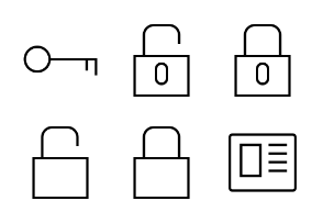 iOS and Android Solid Icons Vol 1