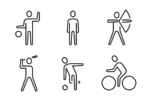 iOS icons - Fitness