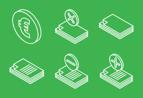 Isometric documents and coins