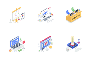 Isometric Illustrations 3