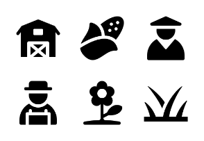 Jumpicon - Agriculture (Glyph)