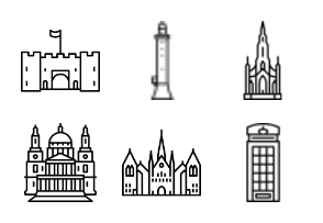Landmarks of the UK