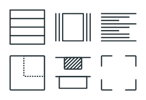 Layouts - Stroke Icons