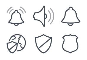 Line Design - Security set 1
