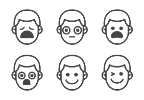 Male Emoticons
